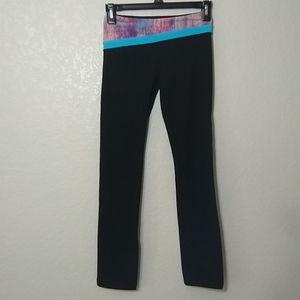 Ivivva Lululemon reversible full length leggings